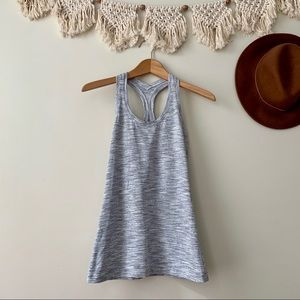 Lululemon Wee Are From Space Cool Racerback Grey
